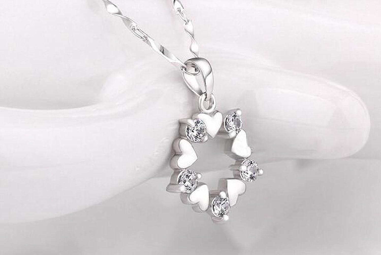 priv/é Twinkle Argent sterling 925/Fleur Pendentif en cristal /& # X200/F;