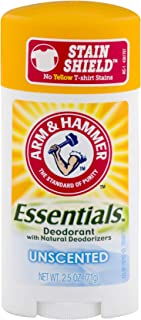 product image for Arm & Hammer Essentials Natural Deodorant, Unscented 2.5 oz (Pack of 5)