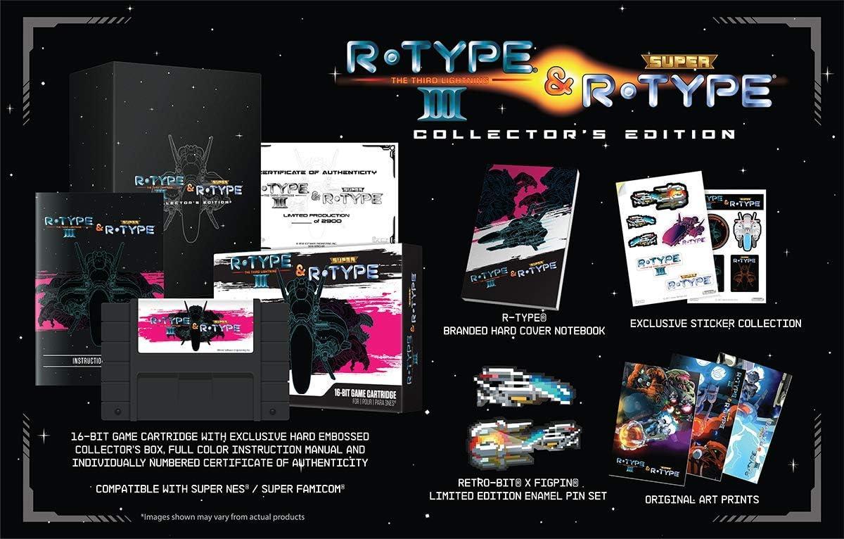 Amazon.com: R-Type III & Super R-Type Collectors Edition ...