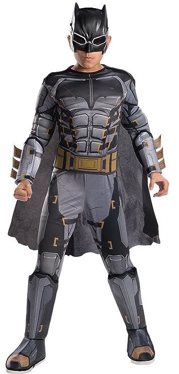 Amazon.com: Rubies Costume Boys Justice League Deluxe Tactical Batman Costume, Large, Multicolor: Toys & Games