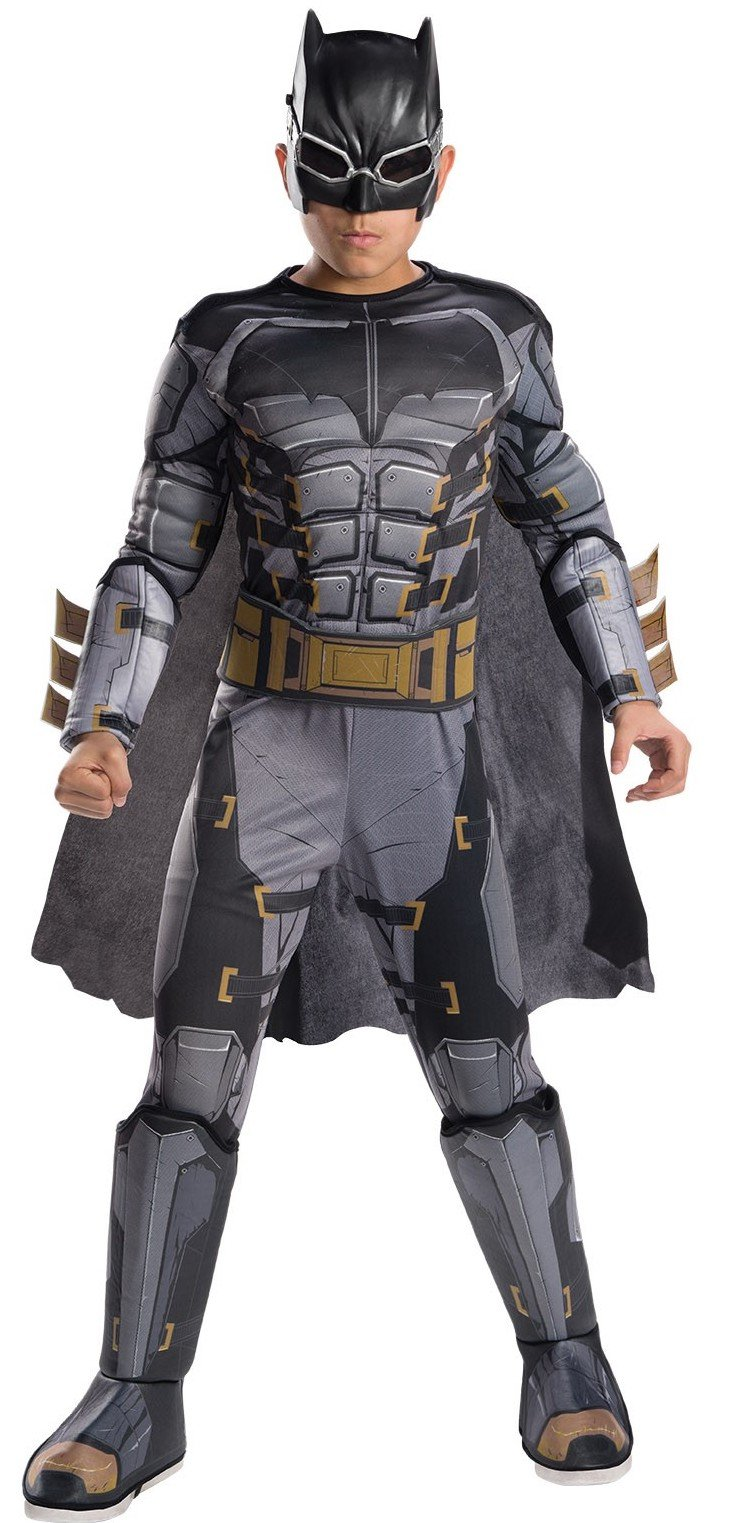 Rubie's Costume Boys Justice League Deluxe Tactical Batman Costume, Medium, Multicolor