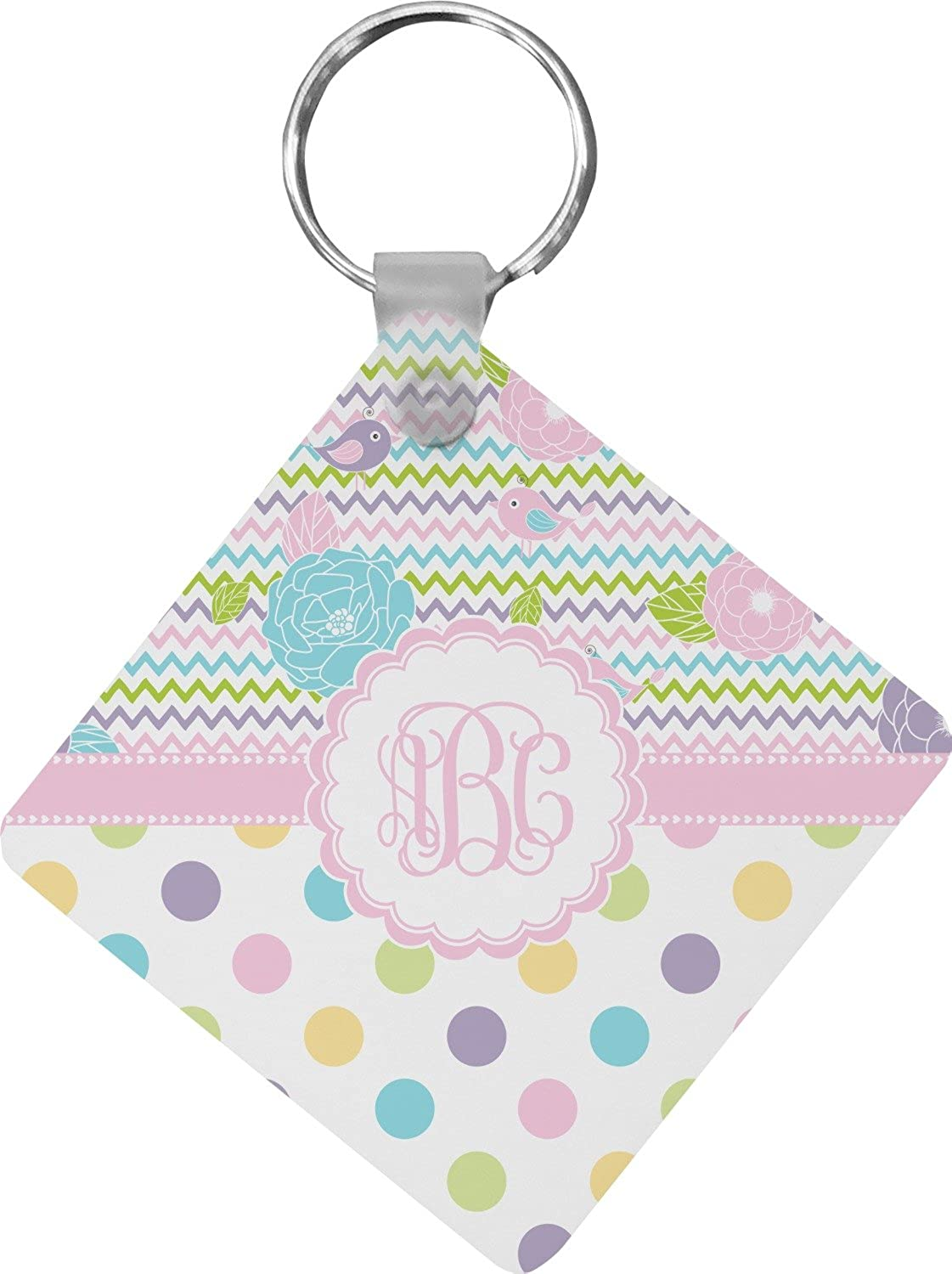 Girly Girl Diamond Key Chain (Personalized)