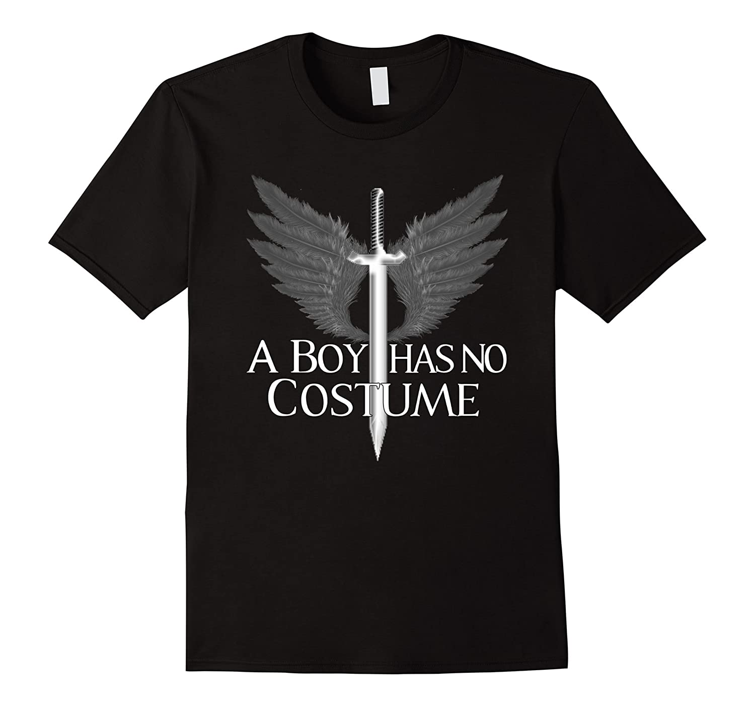 A Boy Has No Costume T-Shirt Halloween Gift-T-Shirt