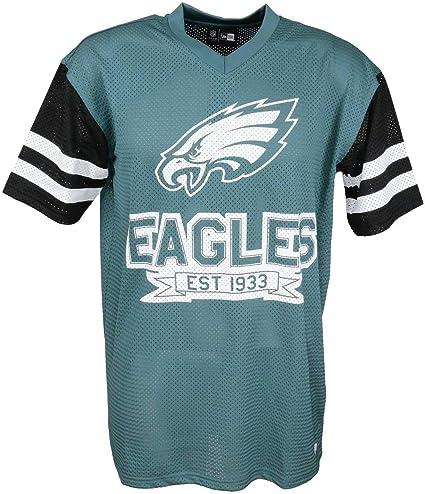 New Era t Shirt NFL Football Américain Femmes Hommes Enfants Patriots Seahawks Steelers Packers Raiders Cowboys Cardinals Eagles Giants Falcons