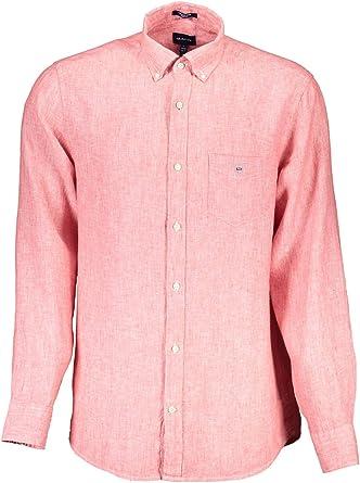GANT The Regular Linen Shirt Camisa para Hombre