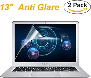[2 Pack] FORITO Anti Glare Screen Protector Compatible for MacBook Air 13 Model A1369 and A1466 / Anti-Scratch & Anti Water -Oil Repellcy with Lifetime Risk-Free Replacement Warranty