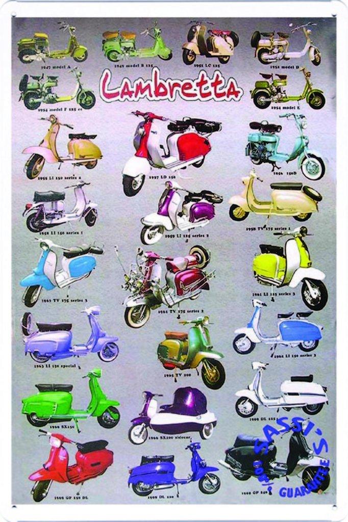 Amazon.com: Vespa Scooter Lambretta Collection 7.8