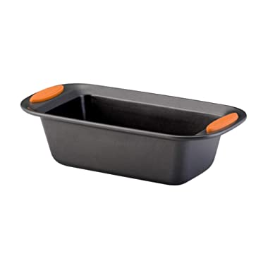 Rachael Ray 54079 Yum-O Nonstick Bakeware Loaf Pan, 9 Inch x 5 Inch, Orange
