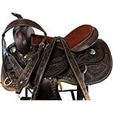 Amazon.com : Orlov Hill Leather Co 15 16 17 Ranch Roper Hand ...
