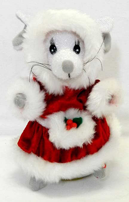 Christmas Mouse.Amazon Com Animated Christmas Mouse Singing We Wish You A