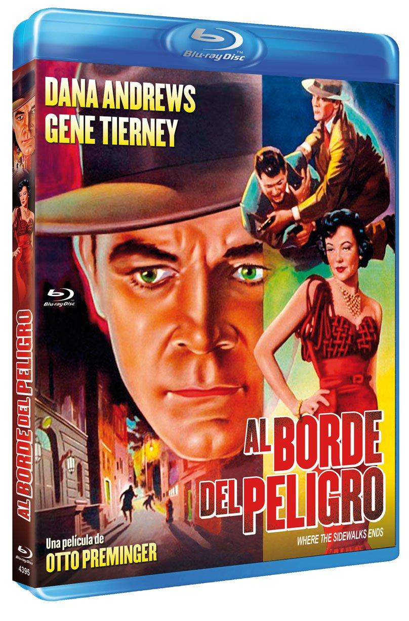 Al Borde del Peligro BD 1950 Where the Sidewalk Ends [Blu-ray]