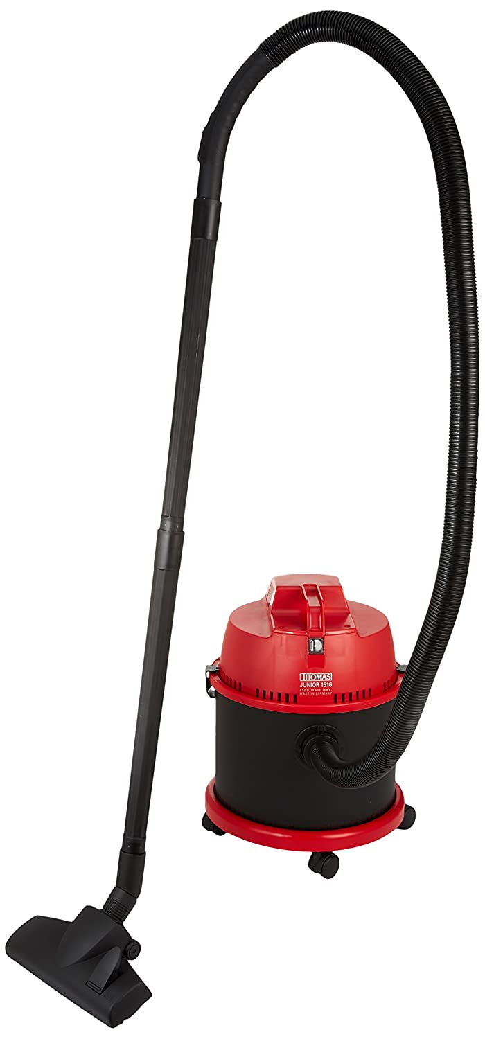 Thomas JUNIOR 1516 Drum vacuum cleaner 16L 1500W Black,Red - vacuums (Drum vacuum, Dry&Wet, Home, Black, Red, 220-240 V, 50/60 Hz) 786846