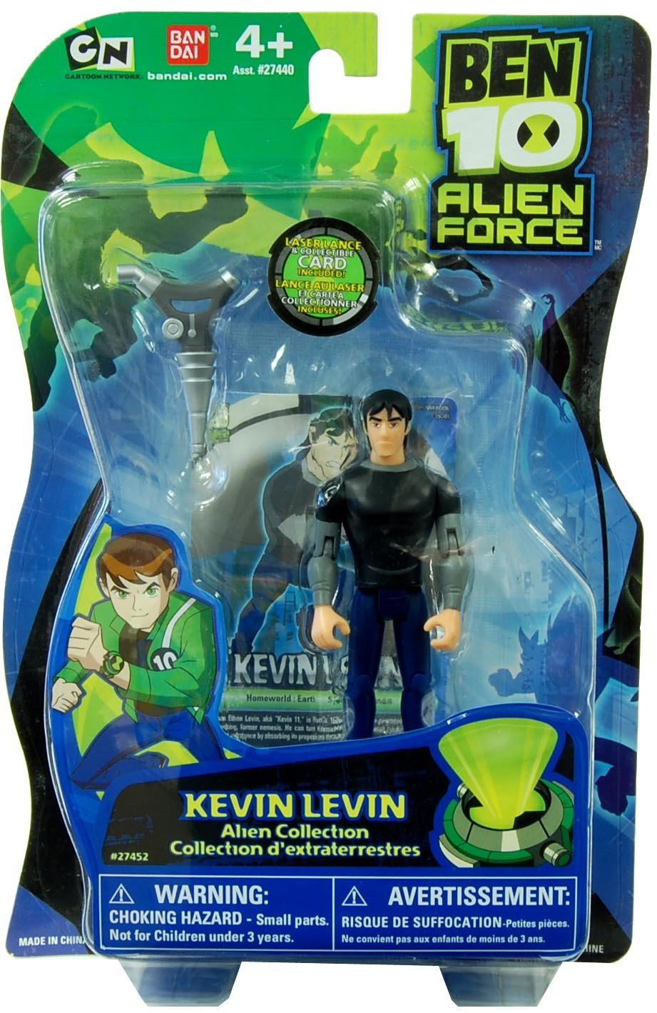 Amazoncom Ben 10 Alien Force 4 Inch Action Figure Kevin 11 Toys