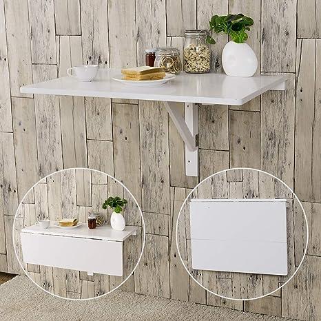 Amazon.com: Tangkula - Mesa de pared con diseño de hojas ...