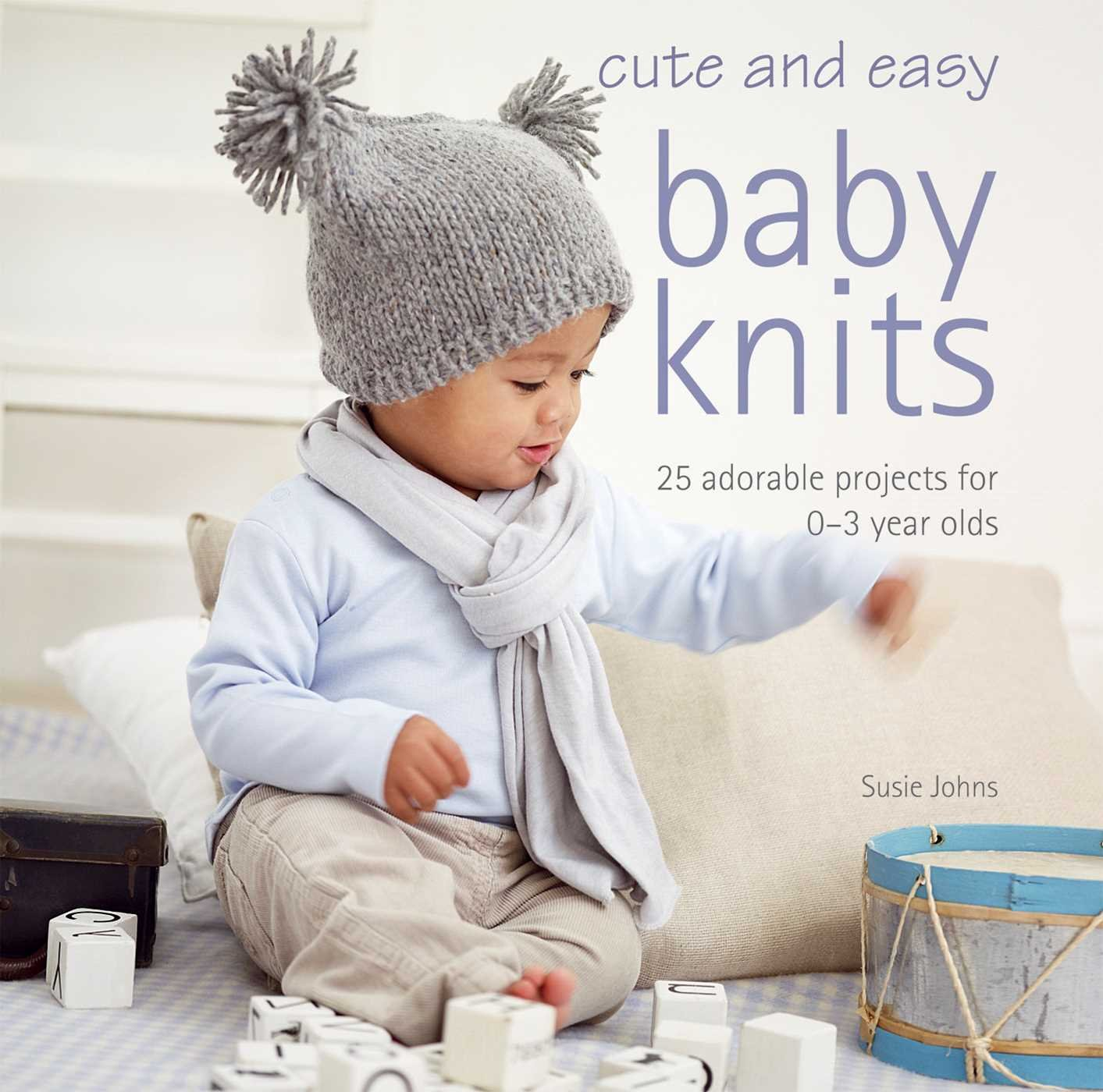 amazon cute and easy baby knits 25 adorable projects for 0 3 year