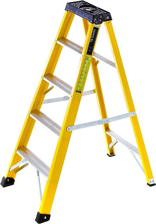 Summit - Escalera con bandeja para herramientas (fibra de vidrio ...