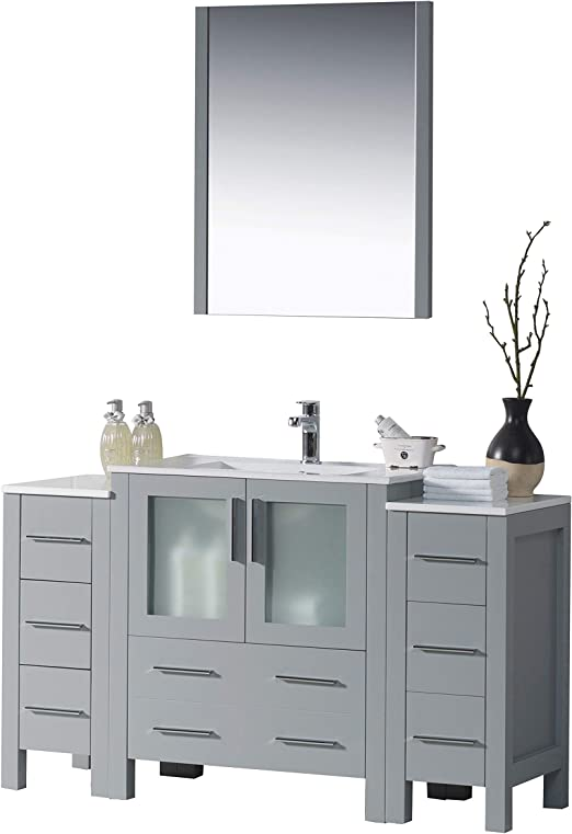 Tools & Home Improvement Bathroom Vanities Compact 2 Door ...