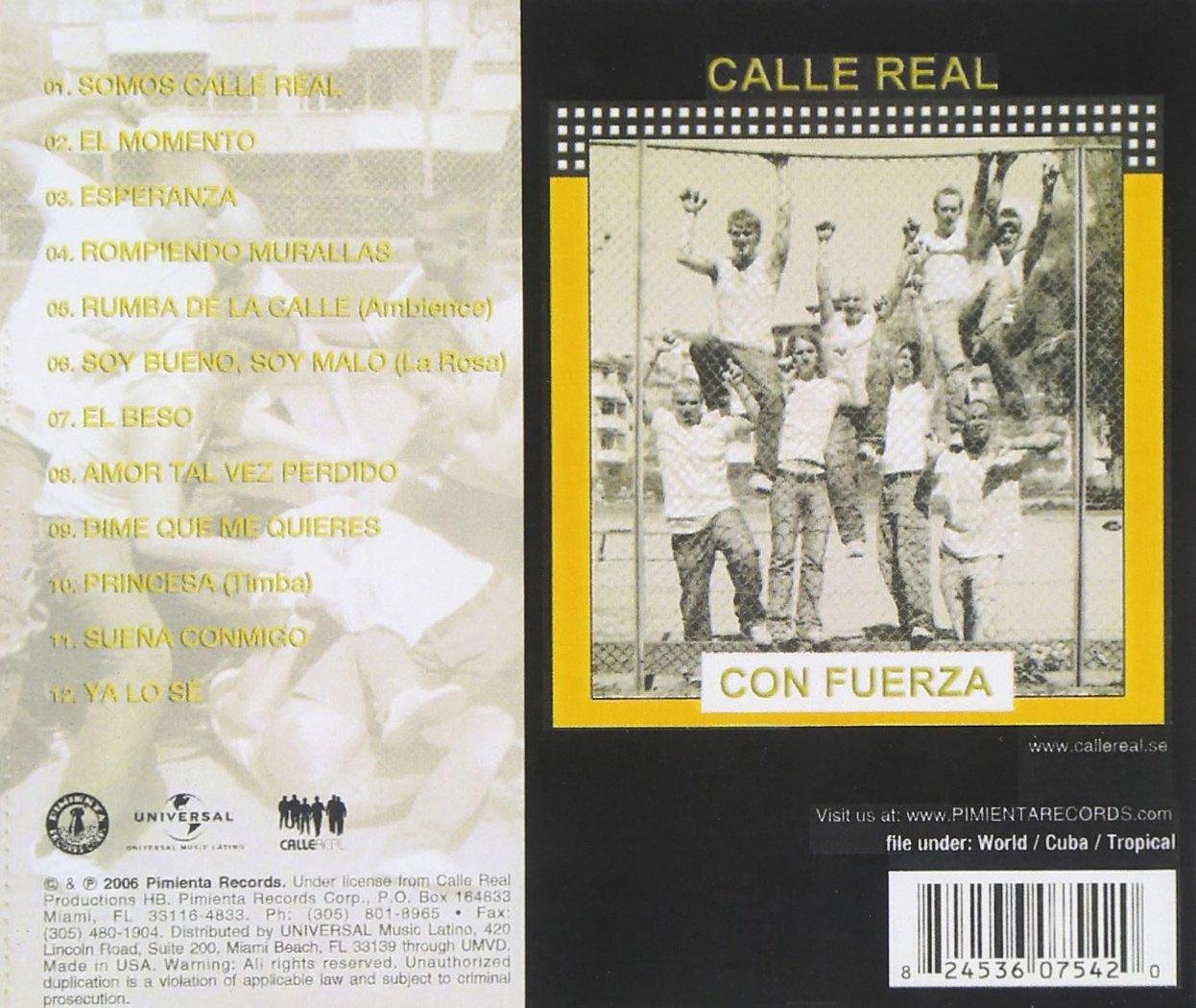 Calle Real Con Fuerz: Calle Real: Amazon.es: Música