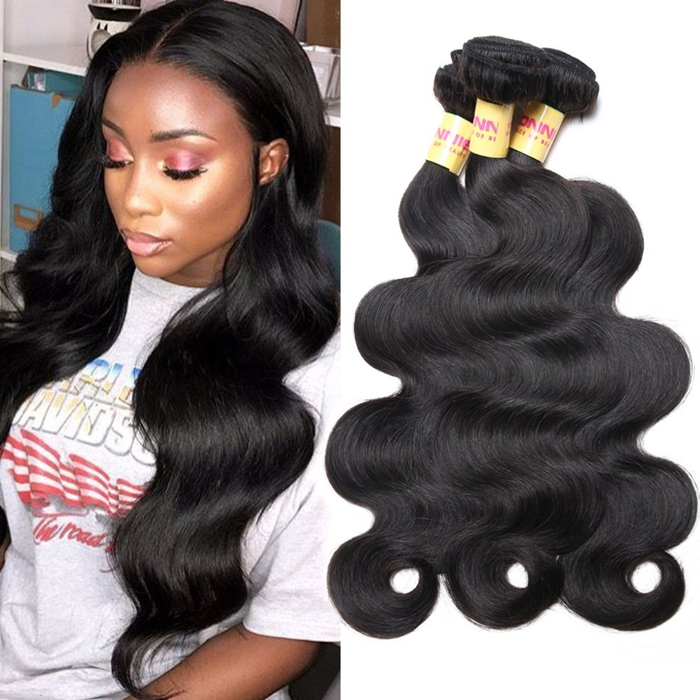 Amazon Connie Brazilian Hair Bundles Body Wave 100 Human Hair