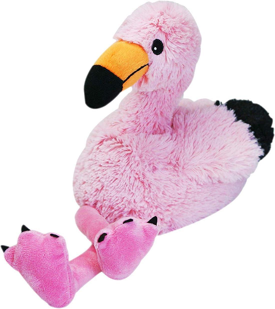 Warmies Flamingo Cozy Plush Heatable Lavender Scented Stuffed Animal