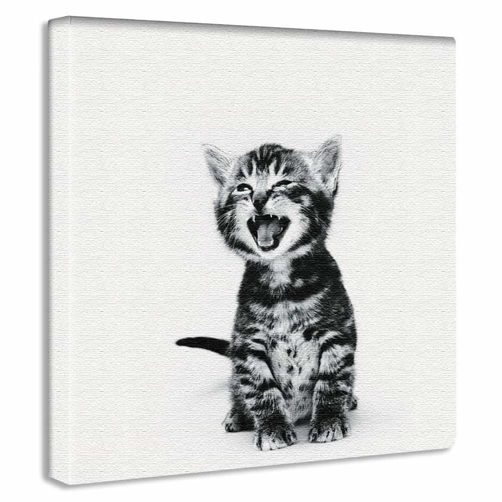 【アートデリ】猫のファブリックパネル 雑貨 ポスター Lサイズ pho-0105-L pho-0105-L B01K9SKQ24 Lサイズ Lサイズ