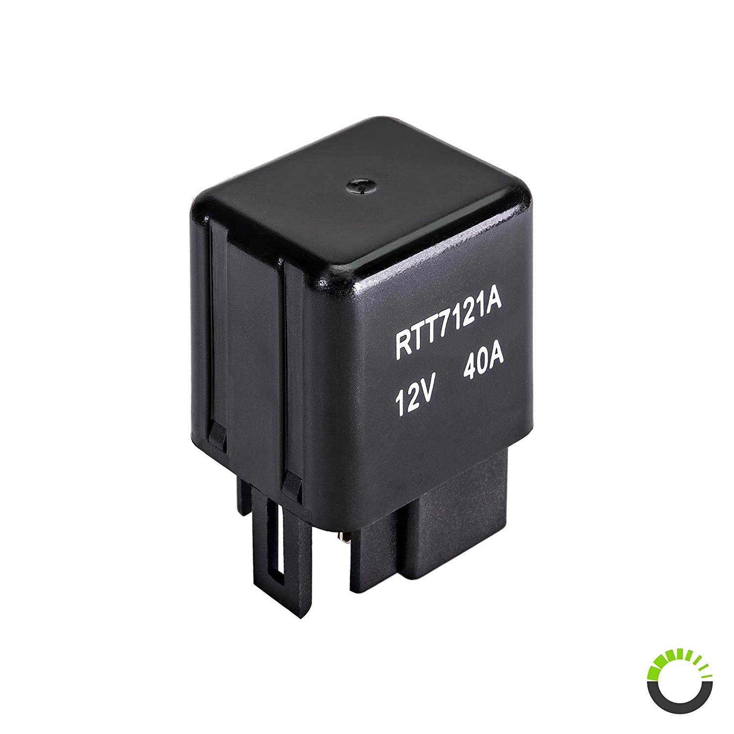 ONLINE LED STORE RTT7121A 12V 40A 4-Pin Relay [Direct Replacement]  [Mechanical Relay] [Single Pole Single Throw] - Replacement for Toyota  90987-02006