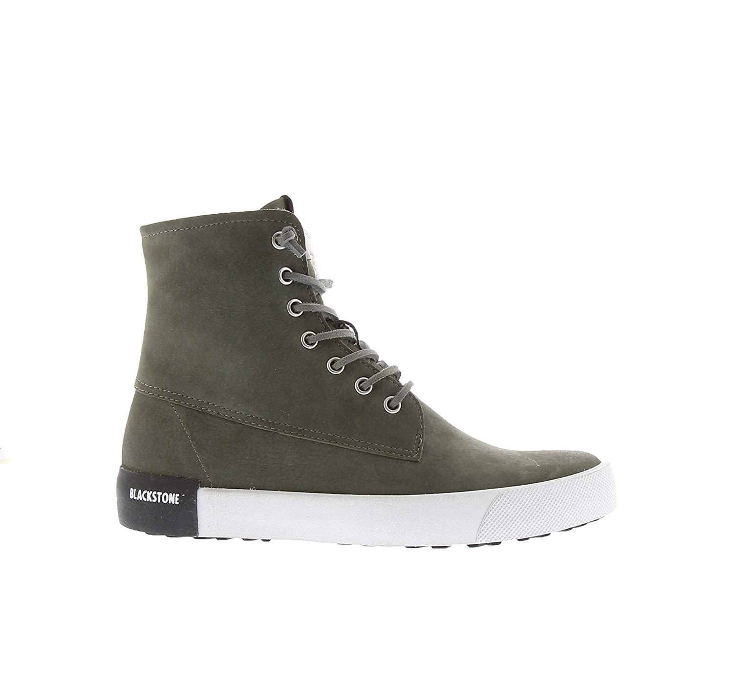 Green (Dark Green) Blackstone Women's Ql41 Hi-Top Trainers