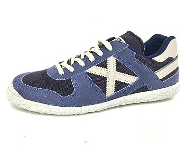 choix de sortie 2014 nouveau Munich - Chaussures En Cuir Pour Homme Blu Sucre Bleu Bleu Taille: Unisexe 43 Livraison gratuite véritable vente en ligne 7WRUZe1dq