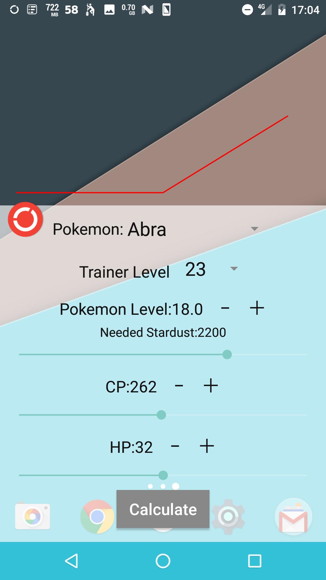 IV Calculator for Pokémon GO [Unofficial]