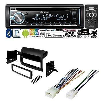 amazon com toyota sienna 2004 2010 car stereo radio dash  amazon com toyota sienna 2004 2010 car stereo radio dash installation mounting kit w wiring harness car electronics