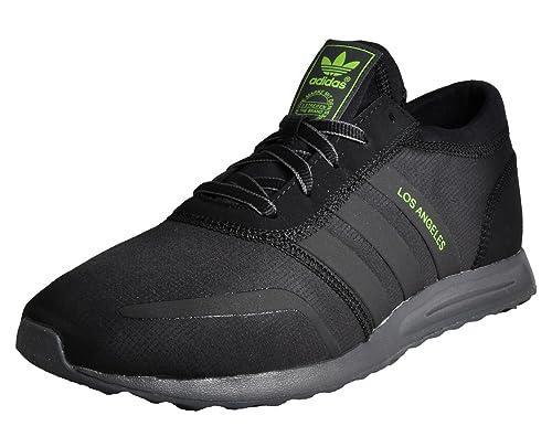Adidas Angeles, Zapatillas Altas para Hombre, Negro Black, 40 EU
