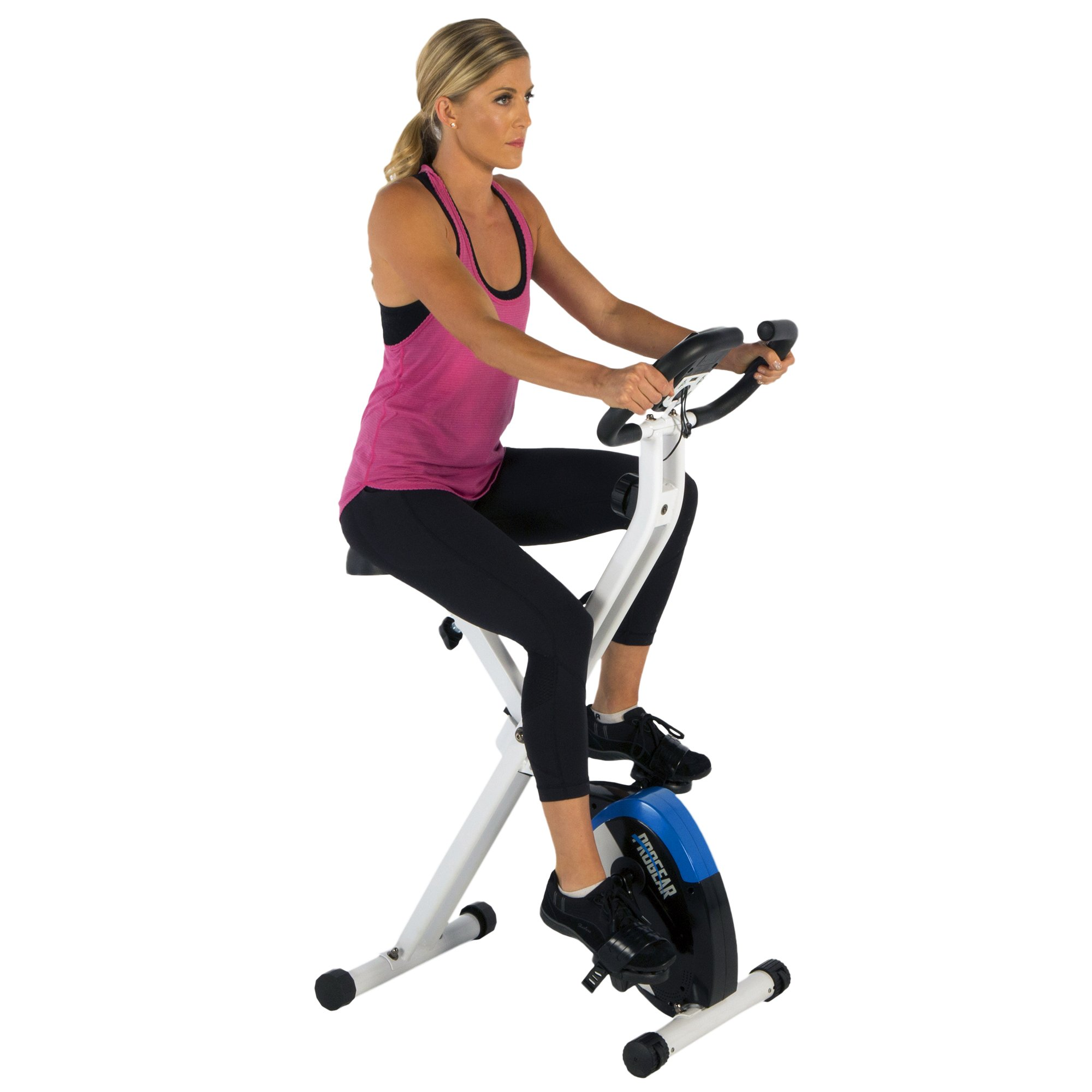 ProGear 225 Folding Magnetic Upright Exercise Bike with Heart Pulse by ProGear (Image #5)