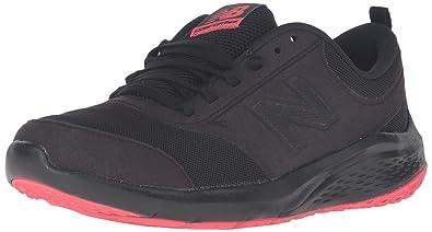 New Balance Women's 85v1 Walking Shoe, Black/Pink, ...