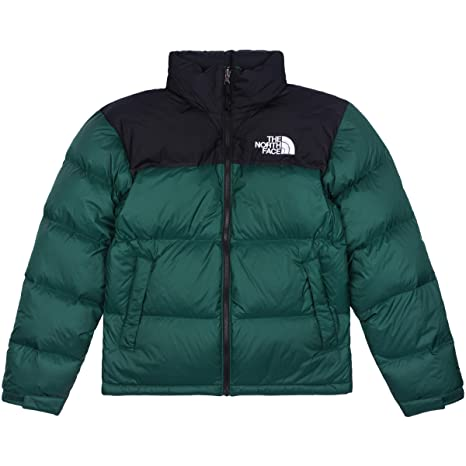 THE NORTH FACE Men Down Jacket 1996 Retro Nuptse, Size:S, Color:night green