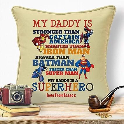 Amazon.com: Cojín personalizado para el día del padre ...