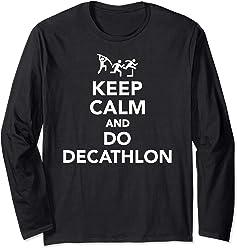 44c261d688c Keep calm and do decathlon Long Sleeve T-Shirt