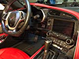 Interior Real Carbon Fiber Dash Trim Cover KIT
