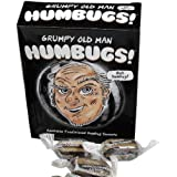 GRUMPY OLD GIT MAN HUMBUGS GIFT FUN NOVELTY CALM SWEETS SCROOGE 150G MINTS