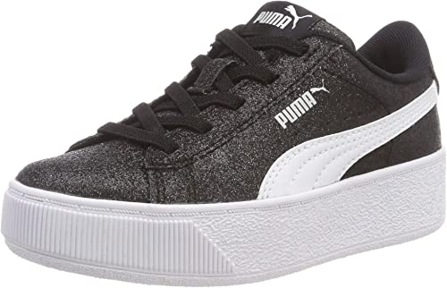 PUMA Mädchen Vikky Glitz Ac Ps Sneaker: : Schuhe