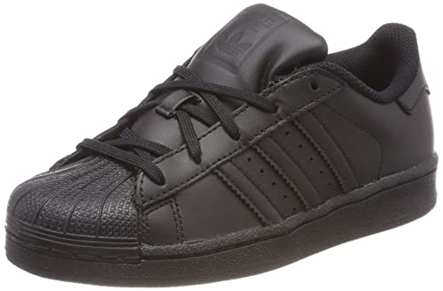 adidas Originals Superstar, Baskets Basses garçon, Noir Core