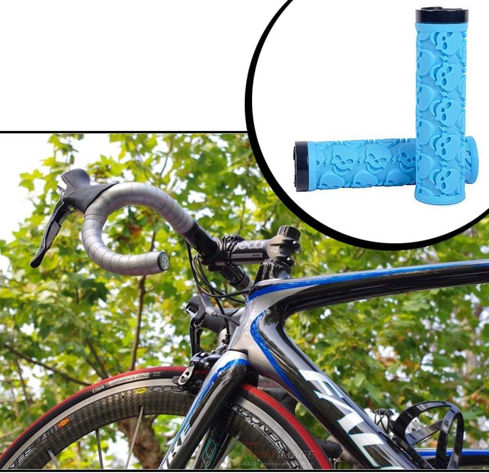 Xiton Grips Bicicleta Ligeros Anti Slip Cubierta del Manillar Manguitos de Amortiguador absorción de la manija de MTB empuñaduras: Amazon.es: Deportes y aire libre