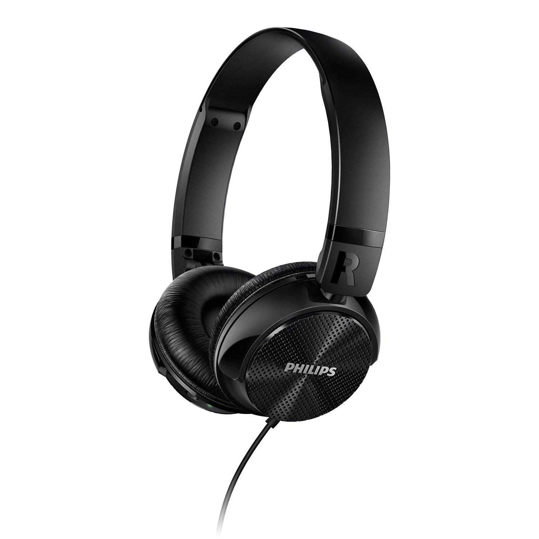 Philips SHL3750NC/27 Noise Cancellation Headphones, Black