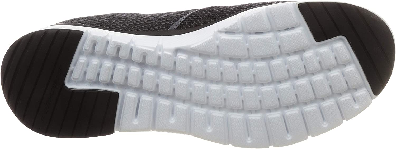 Skechers mens 52961_bbk Black White