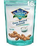 Blue Diamond Oven Roasted Almonds,Sea Salt, 16 Ounce