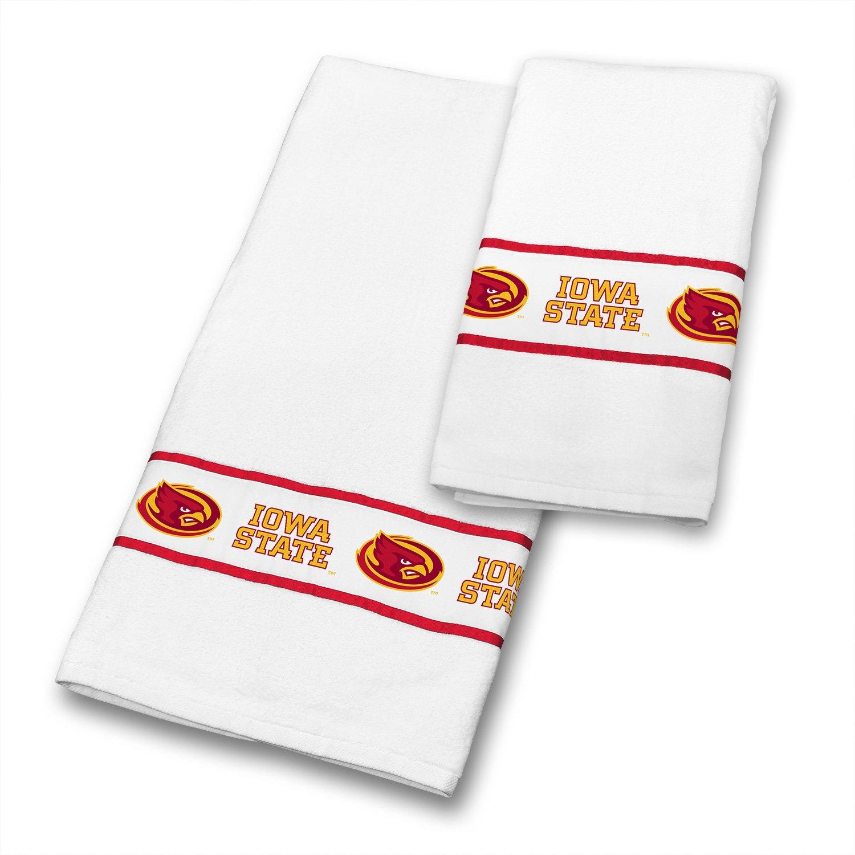 Iowa State ciclones 6 pc juego de toallas incluye: (3 toallas de baño, 3 toallas de mano de) - decorar tu baño y ahorrar en la Agrupación de.