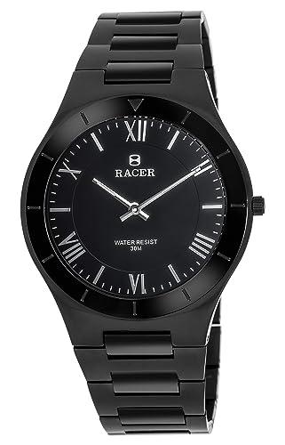 Racer Reloj Analógico para Hombre de Cuarzo con Correa en Cuero S400: Amazon.es: Relojes