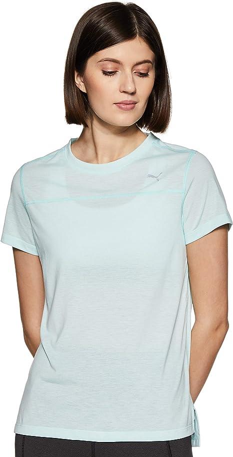 PUMA Damen T Shirt SS Tee W: : Bekleidung