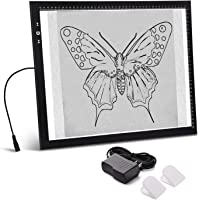 A3 Light Box Light Pad Aluminium Frame Touch Dimmer 11W Super Bright Max 3000 Lux with Free Carry/Storage Bag 2 Years…