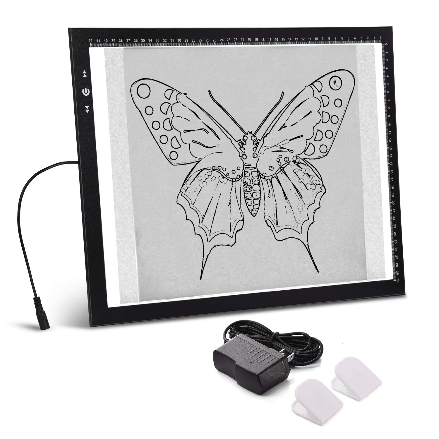 A3 Light Box Light Pad Aluminium Frame Touch Dimmer 11W Super Bright Max 3500 Lux with Free Carry/Storage Bag 2 Years Warranty (A3 Light pad) by HSK