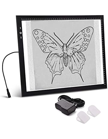 A3 Light Box Light Pad Aluminium Frame Touch Dimmer 11W Super Bright Max 3000 Lux with